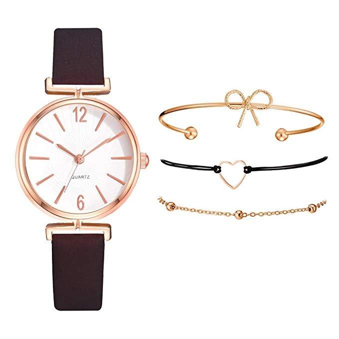 Feytuo Damen Armbanduhr mit Armbändern im Set (verschiedene Modelle) ab je 3€ inkl. Versand