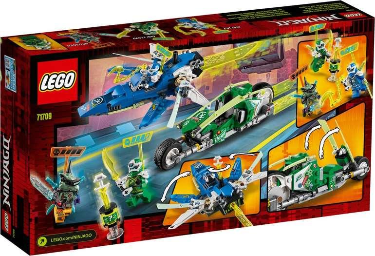Lego 71709 Ninjago Jay und Lloyds Power-Flitzer Bauset für 19,98€ inkl. Prime Versand (statt 26€)