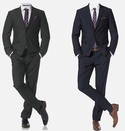 Bruno Banani Anzug mit Krawatte und Einstecktuch ab 121,49€ (statt 171€)