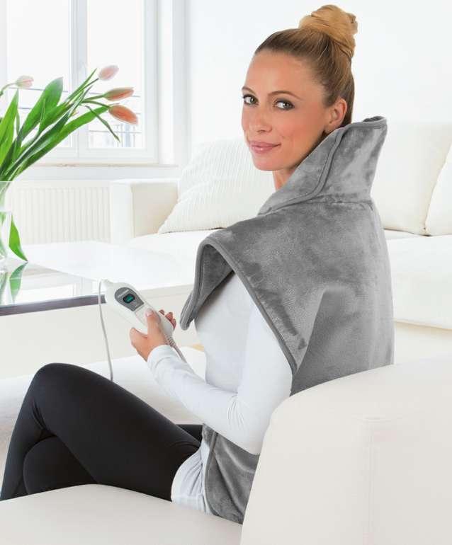 VITALmaxx Heizdecke für Nacken & Rücken mit 100 Watt in grau zu 27,99€inkl. Versand (statt 38€)