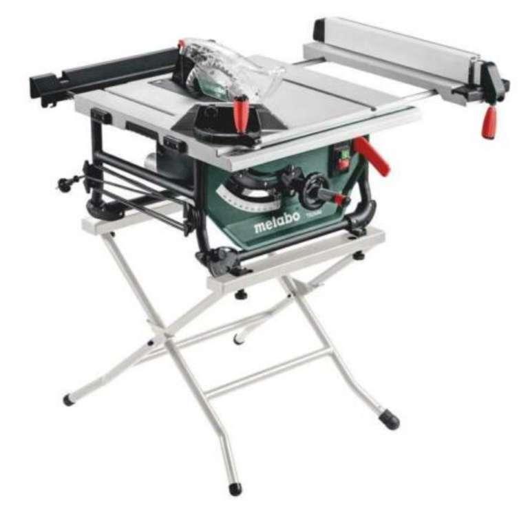 Metabo Tischkreissäge TS 254 M 1500W + Untergestell für 379€ inkl. Versand