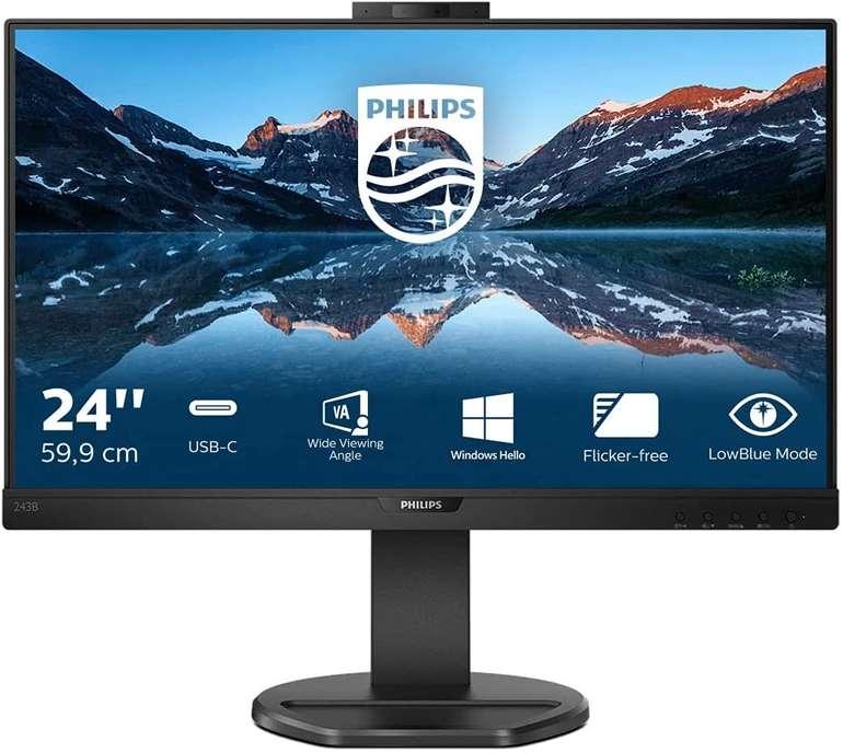 """Philips 243B9H - 24"""" höhenverstellbarer Monitor (FHD, Webcam, 75 Hz) für 203,21€ inkl. Versand (statt 282€)"""