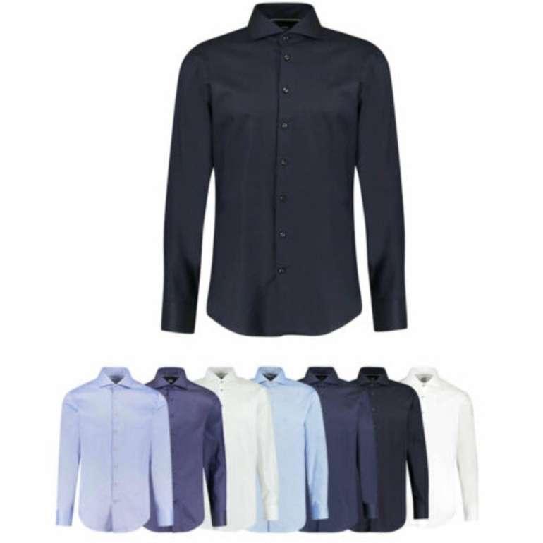 Verschiedene Jacques Britt Herren Hemden (Custom- und Slim Fit) für je 34,90€ inkl. Versand