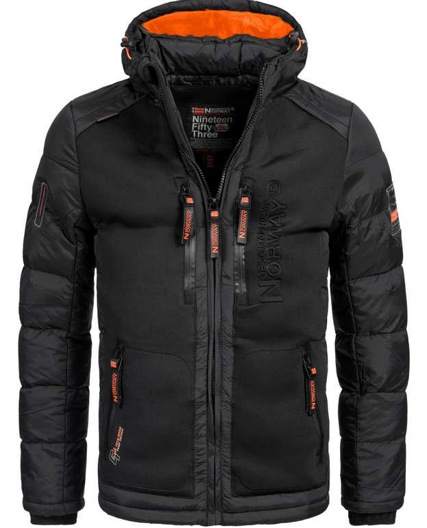 Geographical Norway Jacke Herren Winterjacke in schwarz oder navy für 69,90€inkl. Versand (statt 80€)