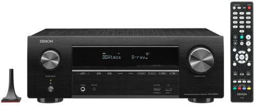 Denon AVR-X1500H – 7.1 AV Receiver mit WLAN, 4K & Dolby Atmos für 319,90€