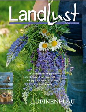 """6 Ausgaben """"Landlust"""" mit verschiedenen Prämien (z.B. Armbanduhr) für 24,80€"""
