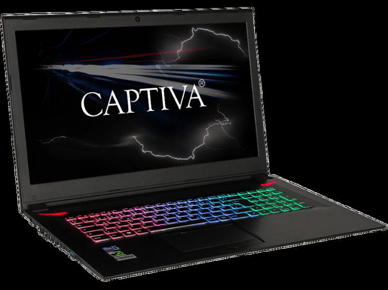 Captiva I46-897 Gaming-Notebook mit i7, 16GB RAM, 240GB SSD, GTX1060 für 1.299€