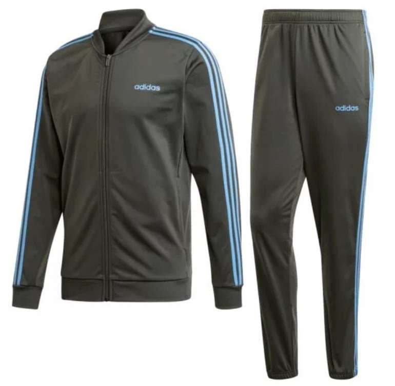 Adidas Trainingsanzug Back to Basic 3S Tracksuit für 33,95€ inkl. Versand (statt 51€)