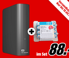 WD Elements Desktop - externe Festplatte mit 4TB + Batterien für 88€ (statt 95€)