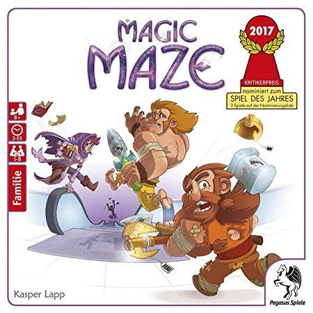 Magic Maze Gesellschaftsspiel für 17,14€ inkl. Versand