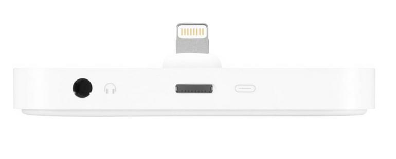 Apple Lightning Dock - Dockinstation in weiß für 18,99€ inkl. Versand (B-Ware)