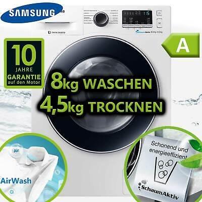 Samsung WD80M4A33JW/EG Waschtrockner 8 + 4,5 kg Waschmaschine Trockner für 414€ inkl. Versand (statt 585€)