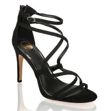 Jamila Absatz-Sandalette in schwarz für 55,92€ inkl. Versand (statt 70€)