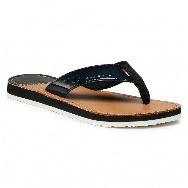 "Tommy Jeans Zehentrenner ""Iridescent Beach Sandal"" für 30,95€ inkl. Versand (statt 45€)"