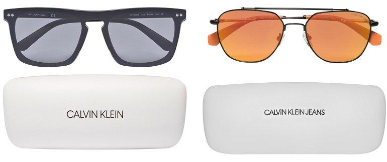 Großer Calvin Klein Sonnenbrillen Sale