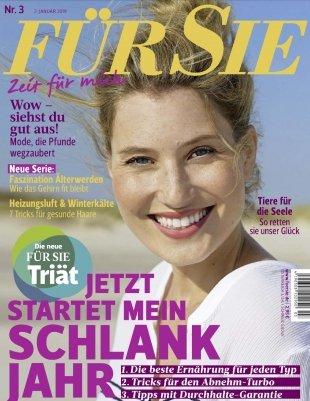 """6 Ausgaben der Zeitschrift """"Für Sie"""" für 19,50€ + 25€ Amazon-Gutschein"""