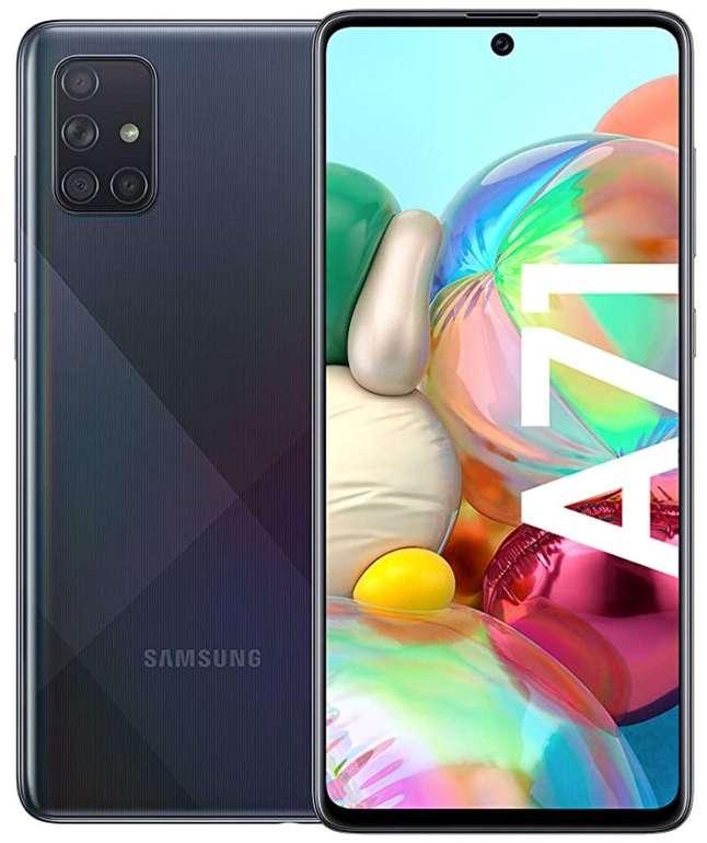 Samsung Galaxy A71 (18,77€) + mobilcom debitel Vodafone Allnet-Flat mit 3GB LTE für 19,99€ mtl.
