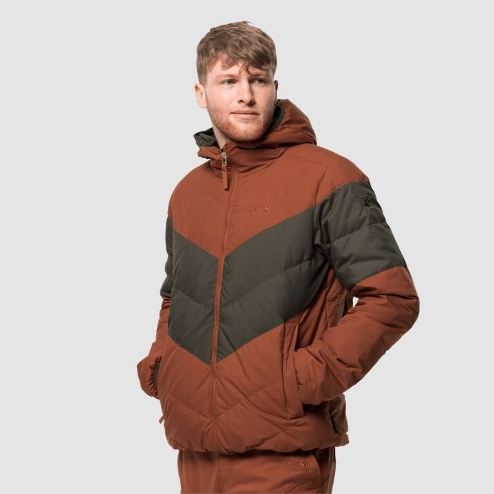 Jack Wolfskin Barrow Bay Winddichte Daunenjacke (2 Farben) für je 109,95€ inkl. Versand (statt 130€)