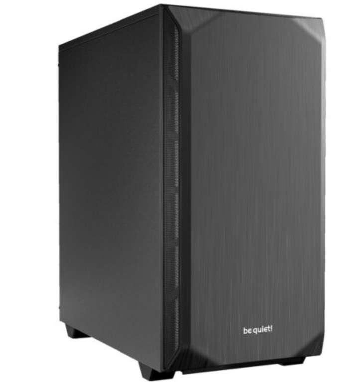 be quiet! Pure Base 500 PC-Gehäuse (schallgedämmt, 2x140mm Pure Wings, bis 360mm Radiatoren) für 54,90€