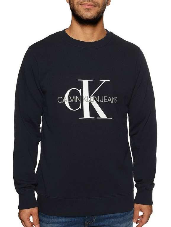 Calvin Klein Core Monogram Logo Sweatshirt in 3 Farben für je 49,90€ inkl. Versand