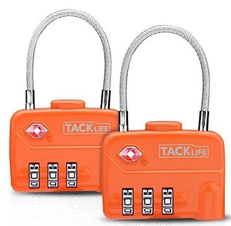 Tacklife - TSA HCL1A Zahlenschloss im 2er Pack für 4,99€ mit Prime