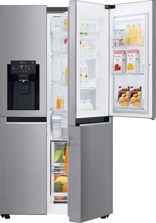 LG GSJ761PZZZ Side-by-Side mit (NoFrost, Wasser- & Eiswürfelspender) für 1.628,95€ inkl. Versand