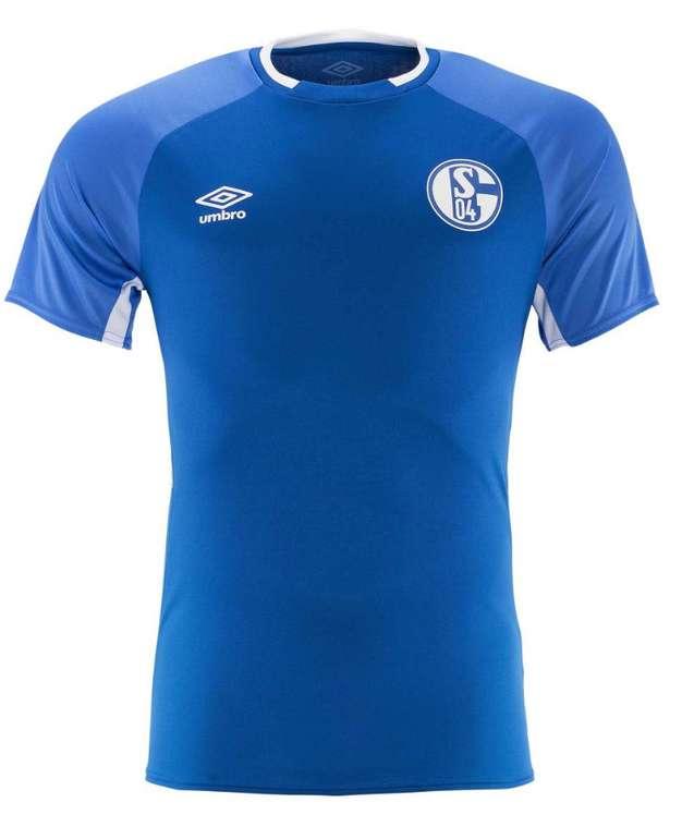 Adventskalender Aktion beim FC Schalke 04 - 20% Rabatt auf alle Umbro Artikel z.B Trainingsshirt in blau für 30,55€ inkl. Versand