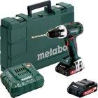 Metabo Akku-Bohrschrauber BS 18 LT 18V (2x 3,0 Ah Akku + Ladegerät) für 119,90€