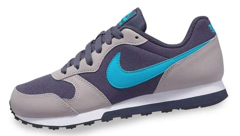 Nike MD Runner 2 Damen Sneaker in grau/türkis für 23,19€ (statt 30€)
