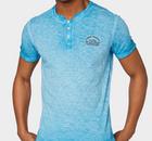 Weitere Codes! Tom Tailor mit 40% Rabatt auf Saleware! - z.B. Henley-Shirt mit Perint (blau) für 15,98€