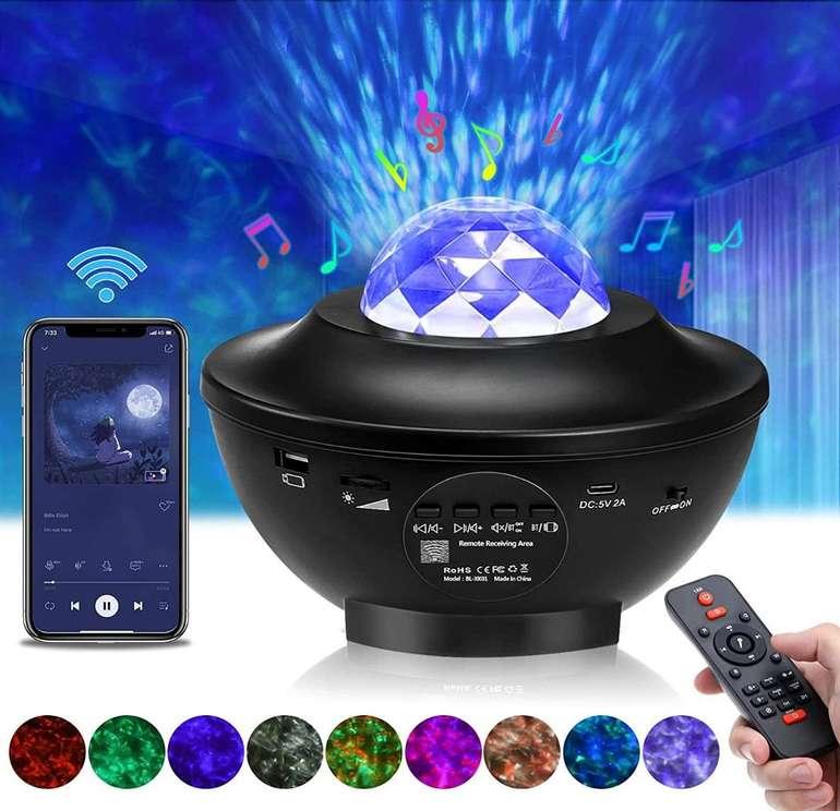 LED Sternenhimmel Projektor für 19,79€ inkl. Prime Versand (statt 32,99€)