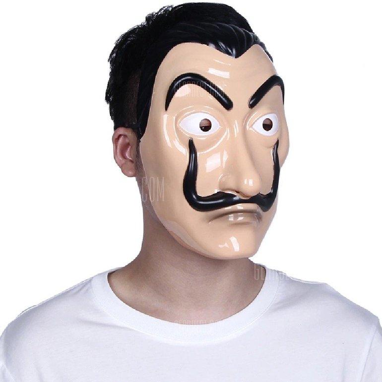 """Maske (Dalí) """"Haus des Geldes"""" für 1,48€ inkl. Versand"""
