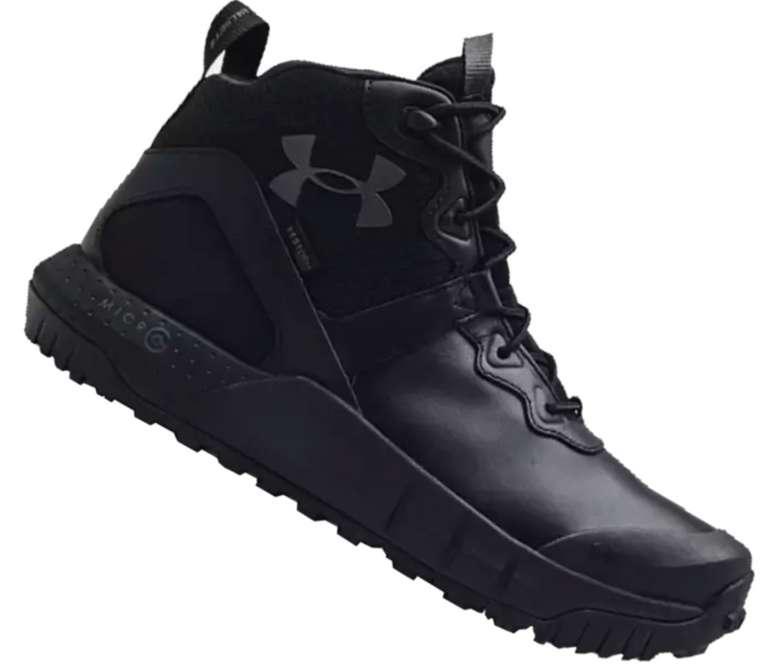Under Armour Schuh Micro G® Valsetz Mid in Schwarz für 79,95€ inkl. Versand (statt 140€)