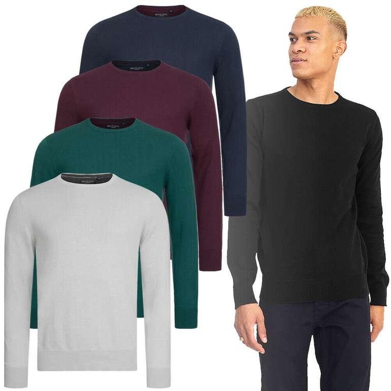 Brave Soul Testament Crew Neck Herren Sweatshirt in verschiedenen Farben je nur 8,99€