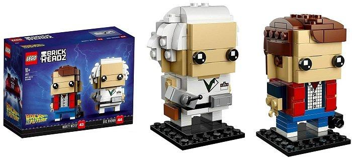 LEGO BrickHeadz 41611 Marty McFly und Doc Brown für 16,99€ (statt 22€)