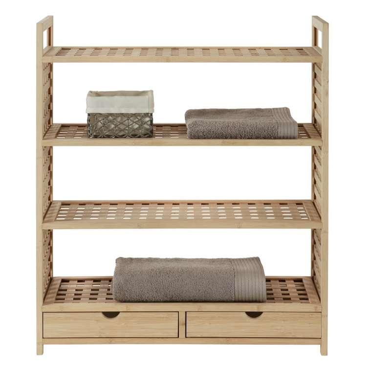 Modern Living Schuhregal aus Bambus in Naturfarbe für 66,38€ inkl. Versand (statt 86€)