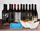 12 Flaschen Italienisches Mafia Rotwein-Paket inkl. zwei Pastaschalen für 74,95€
