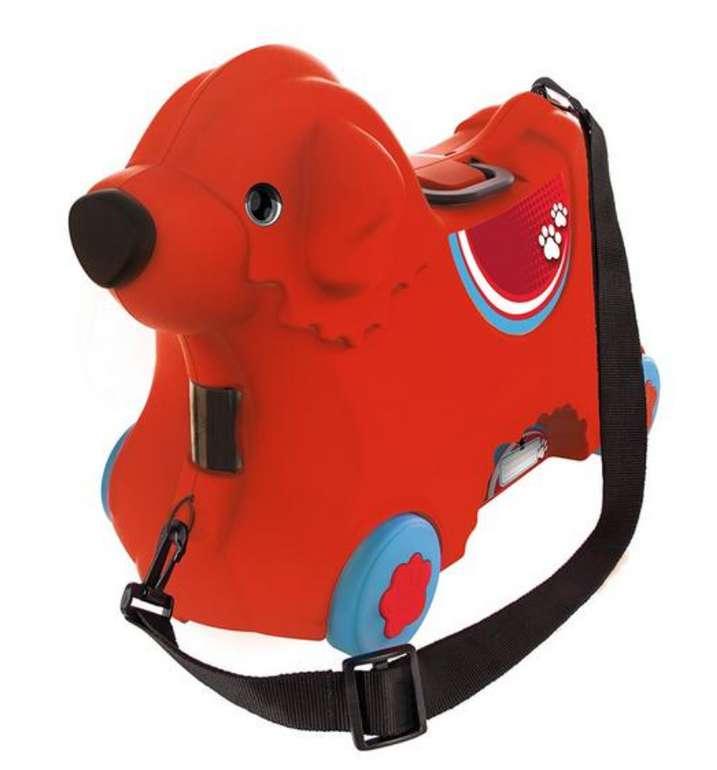 BIG 800055350 Bobby-Trolley Kinderkoffer in Rot für 18,82€ inkl. Versand (statt 35€)