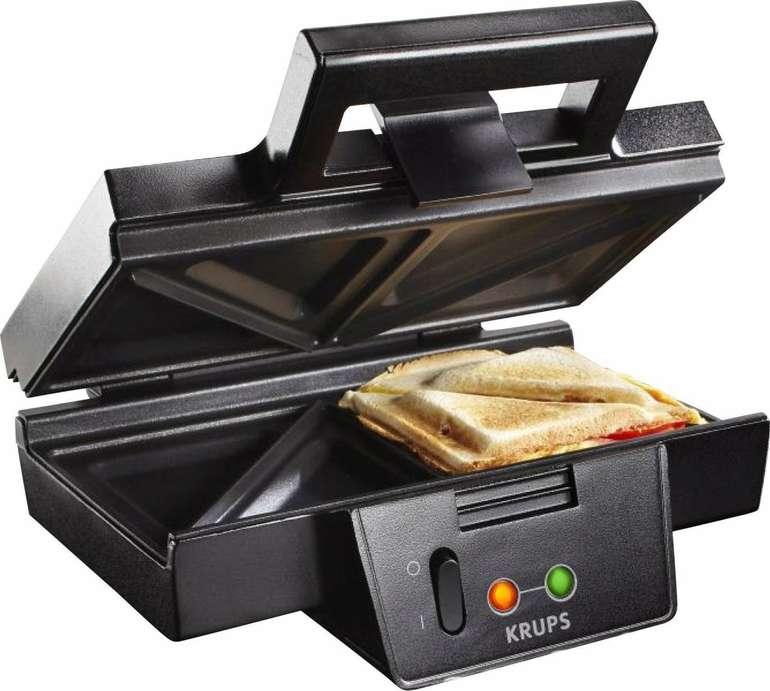 Krups FDK 451 Sandwich-Toaster mit 850 Watt (25 x 12 cm) für 29,69€