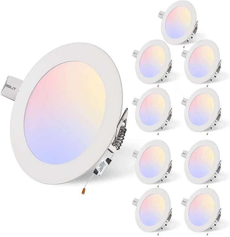 10er Pack Puffalou LED Einbaustrahler (6500-3200K) mit 3 Watt oder 6 Watt für 24,59€ inkl. Versand (statt 41€)