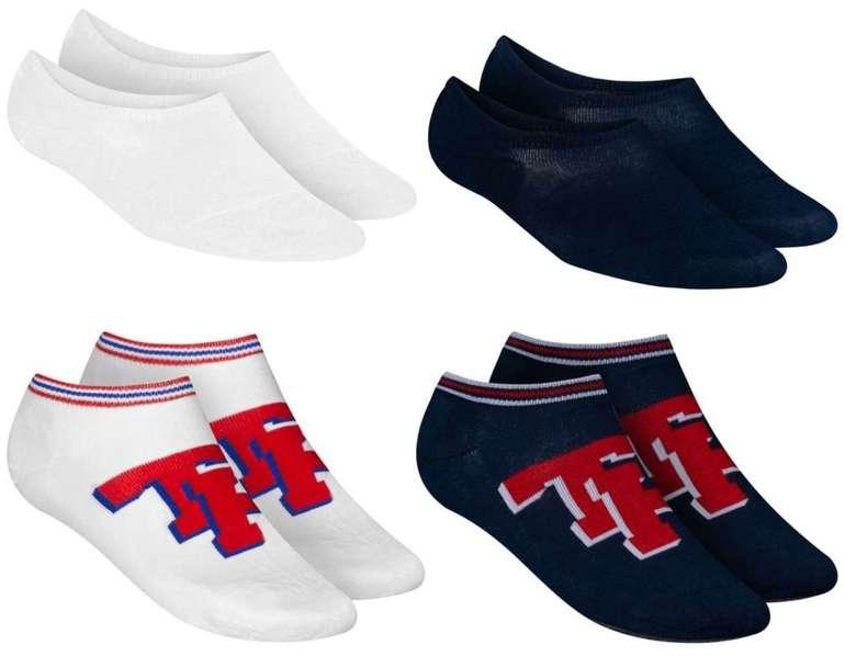 4er Pack Tommy Hilfiger Sneaker Socken (versch. Farben) für 9,99€ inkl. Versand (statt 17€)