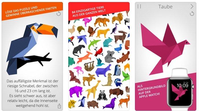 Puzzle Tierwelt für iOS kostenlos