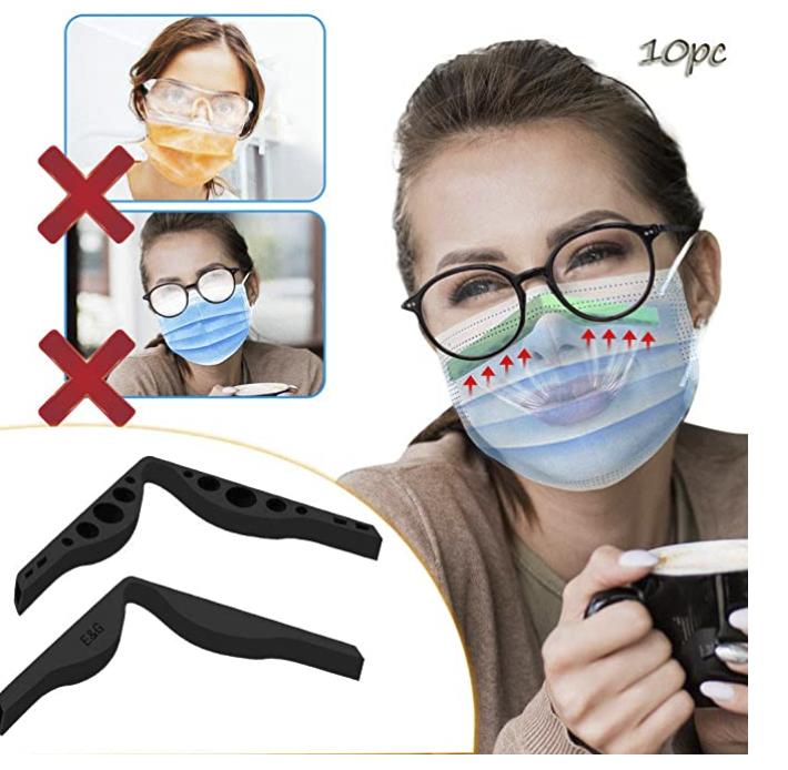 Hingpy Nasenclip (10er Pack) für reibungslose Atmung zu 4,74€ inkl. Prime Versand (statt 19€)