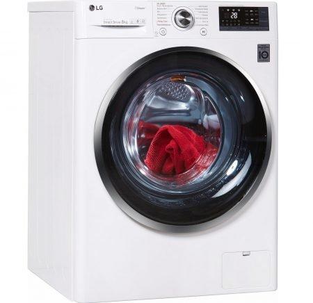 LG Waschmaschine F14WM8TS2 (8 kg, 1400 U/Min, A+++) für 385,15€ (statt 474€)