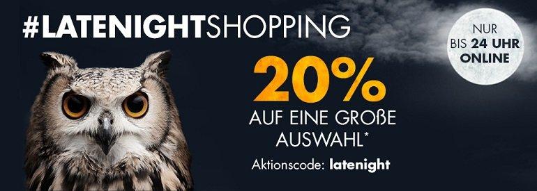 Latenight Shopping bei Galeria Kaufhof