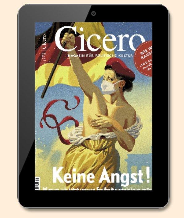 """E-Paper Jahresabo der Zeitschrift """"Cicero"""" für 2,49€ (statt 118€)"""