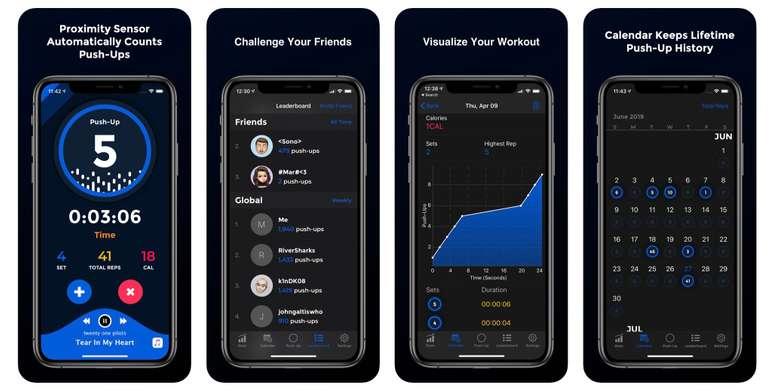 Sport App Screen