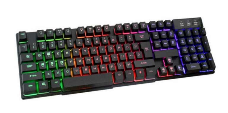 Silvergear Gaming-Tastatur (QWERTY) für 14,90€inkl. Versand (statt 22€