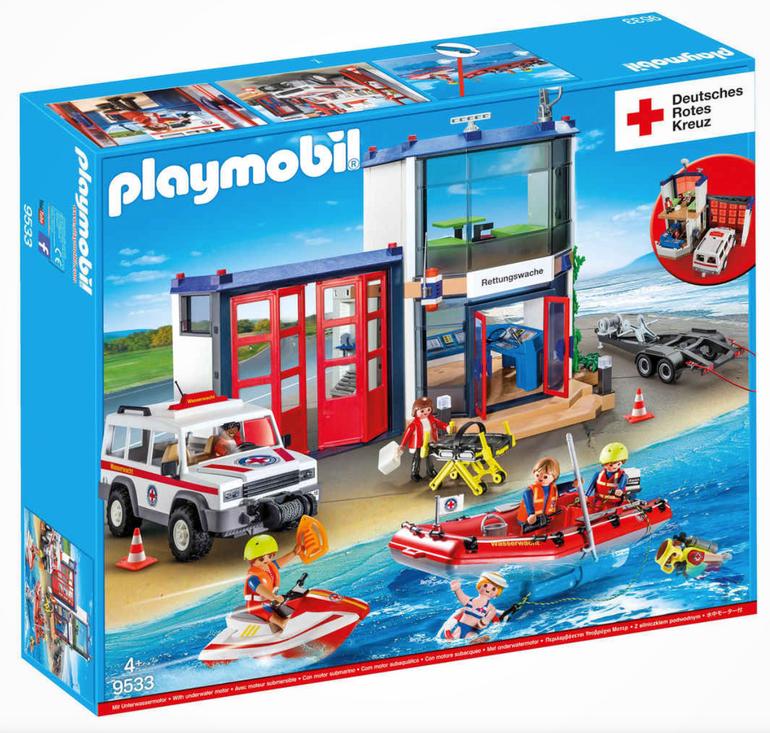 Playmobil Deutsches Rotes Kreuz DRK Mega-Set (9533) für 47,44€ (statt 67€)