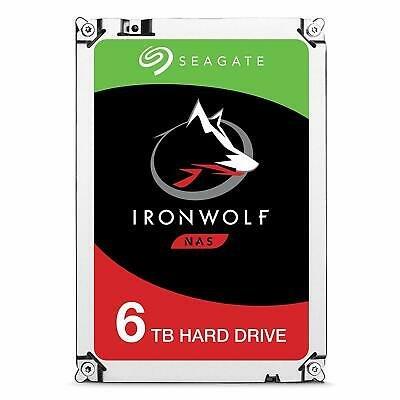 "Seagate IronWolf - 6TB NAS Festplatte (SATA 3 Gb/s, 3,5"") für 162,80€ inkl. Versand (statt 178€)"